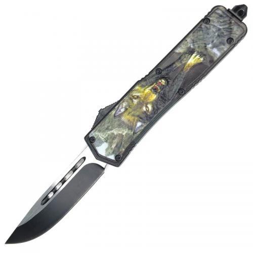 Фронтальный нож Волк