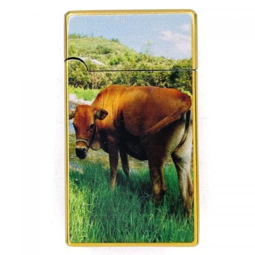 Зажигалка турбо Корова
