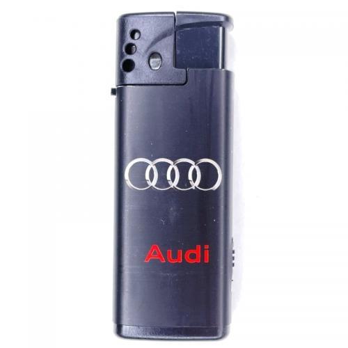 Газовая зажигалка Audi с фонариком