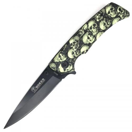 Складной нож Boker B055 Череп