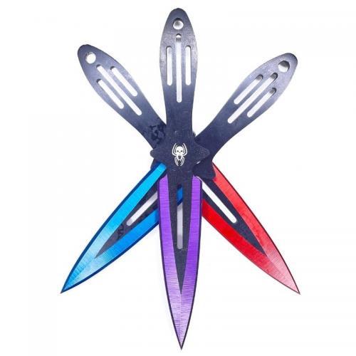 Метательные ножи Паук Цветные