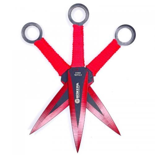 Метательные ножи красные