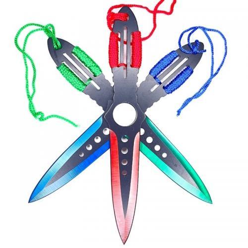 Метательные ножи Aeroblades Цветные