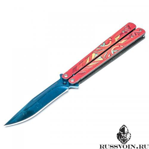 синий нож фото
