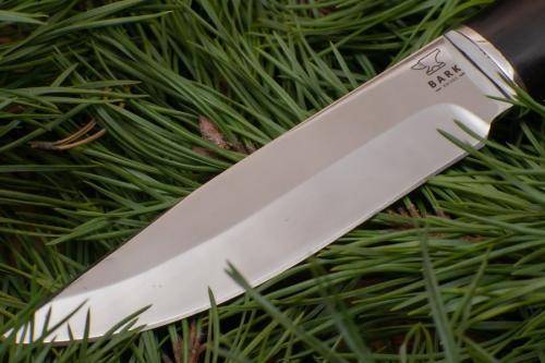 Нож Лесной с деревянной ручкой фото