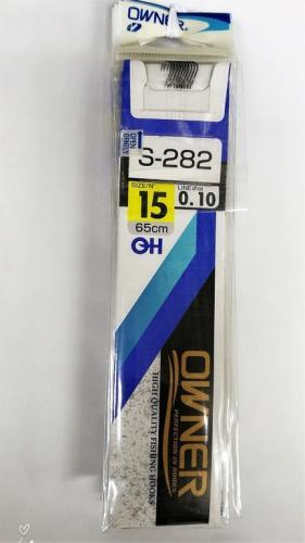 Крючки Owner S-282 размер 10