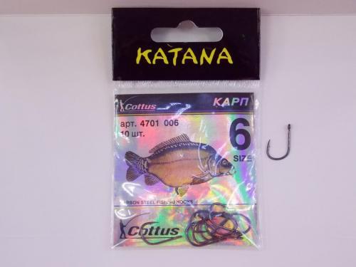Крючки Katana 4701 размер 4